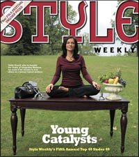 Style Weekly Cover - Top 40 under 40