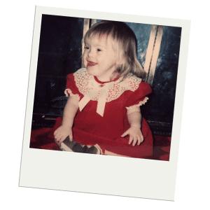 A photo of Sara Ruh as a baby