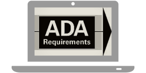 """ADA Requirements"" in a laptop"